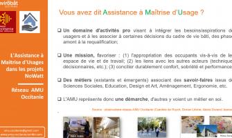Représentation du réseau AMU Occitanie au NoWatt tour 2019