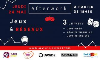 """Afterwork """"JEUX & RESEAUX"""" chez Bureaux & Co"""