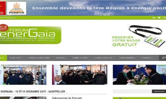 Atelier Frédéric Roignant sera présent au Forum EnerGaïa le 13 et 14 décembre 2017 au parc des expositions de Montpellier !