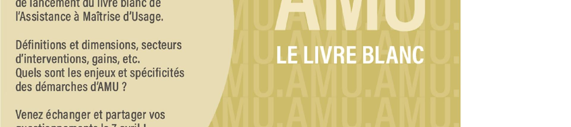 Save the date 7 avril 2020 livre blanc de l'AMU