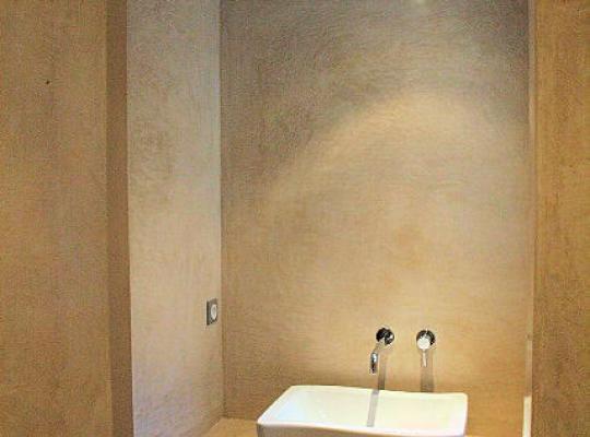 Rénovation de salle de bain - Béton ciré - Tadelakt ...